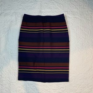 The Limited - Striped Skirt